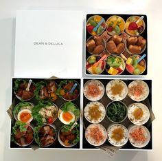 運動会やお出かけのシーズン。大人数分のお弁当をつくる機会が増える人も多いのでは? ひとり分のお弁当箱と違い、大きなお弁当箱やお重に見栄えよくつめるのって結構難しい! そこで今回、輝く主婦を発掘するコンテスト「ESSE Shu_fu of the year 2016」で、お金をかけずにつくるおしゃれな料理や盛り Bento Box, Lunch Box, Food Packaging Design, Food Photo, Catering, Picnic, Food And Drink, Cooking Recipes, Beef