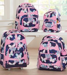 A backpack to wear i