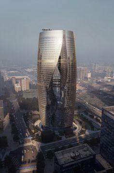 Leeza Soho , Beijing by Zaha Hadid Architects