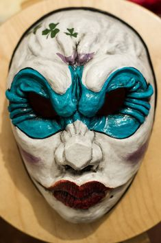 inspired Clover Payday 2 Payday the Heist game mask by Maskforsale