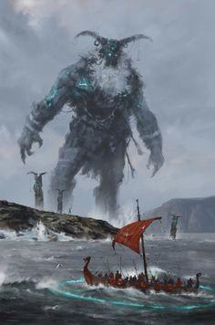fantasyartwatch: The Ancients by Jakub Rozalski