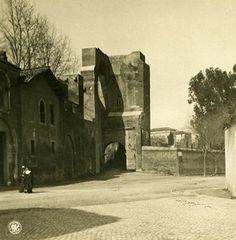 Italy Roma Via San Giovanni Old NPG Stereo Photo Stereoview 1900