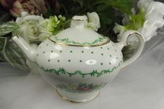 Vintage Salisbury Fine Bone China Teapot