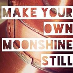 Copper Moonshine Stills and Apple Pie Moonshine Kits