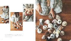 Pompon everyone loves Wool, now cute animal.   Bears, rabbits, sheep, cats, dogs, squirrels, Java sparrow, such as lion,  Enjoy abandon fluffy