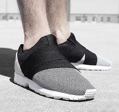 Adidas Tubular Defiant RO TF Leather in Black Getoutsideshoes