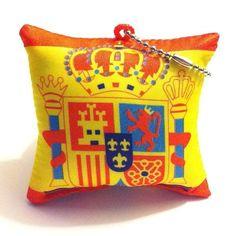 Spain Cushion Pillow Keychain