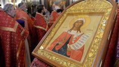 Патриарх Московский и всея Руси Кирилл в Татьянин день провел службу в храме Христа Спасителя