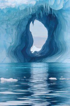 Iceberg In  Western Antarctica