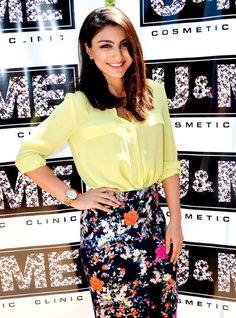 Soha Ali Khan at the U & ME, a beauty salon and spa in Santacruz (West), Mumbai. #Bollywood #Fashion #Style #Beauty #Hot #Cute