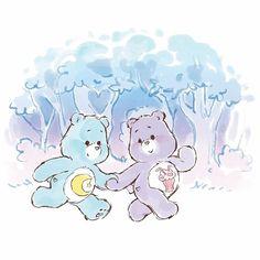 Care Bears Vintage, Kinds Of Colors, American Greetings, Bear Art, Art Sketchbook, Cute Cartoon, Bedtime, Art Sketches, My Little Pony