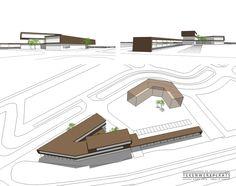 Duurzaam kantoorgebouw   Ecopark, Emmeloord Office Supplies, Architecture, Arquitetura, Architecture Illustrations