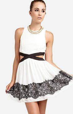 Parisian Cutout Dress
