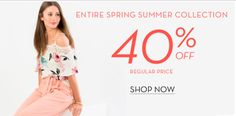 Suzy Shier Canada Offers: Save 40% off Entire Spring Summer Collection & 50% Off Second Sale Item http://www.lavahotdeals.com/ca/cheap/suzy-shier-canada-offers-save-40-entire-spring/229675?utm_source=pinterest&utm_medium=rss&utm_campaign=at_lavahotdeals