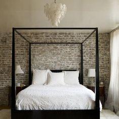 idée de lit à baldaquin pour la chambre à coucher