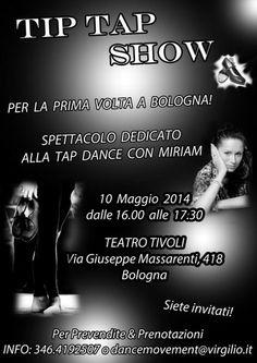 Primo Spettacoli a Bologna dedicato alla Tap Dance con Miriam « weekendinpalcoscenico la danza palco e web | IL PORTALE DELLA DANZA ITALIANA | weekendinpalcoscenico.it
