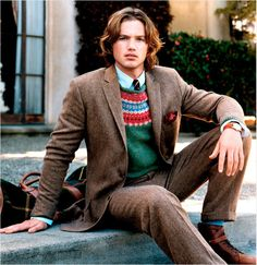 The Tweed Jacket    No other garment more strictly defines the idea of the English gentleman than the tweed jacket. This hard wearing piece is as at home in a city office as it is on a weekend jaunt in the country.