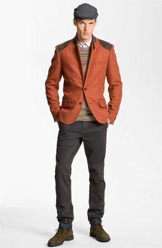 Ted Baker London Blazer, Sweater, Sport Shirt & Slim Fit Chinos | Nordstrom