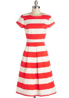 Who wants to buy me a pretty new dress???  I would totally rock this!  Inlet's Get Together Dress, #ModCloth
