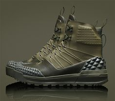 Nike LunarTerra Arktos Boot - combines the lightweight comfort of a sneaker and the durable insulation of a boot.
