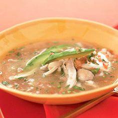 Chicken Salsa Soup.