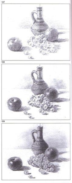 Resme giriş ve Karakalem Çizim Teknikleri | Türk el sanatları ve hobiler