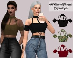 LumySims: Cropped Top • Sims 4 Downloads