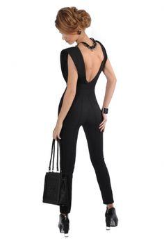 Alise Aleksandra | New York jumpsuit | CreativeLatvia.com New York, Jumpsuit, Sporty, How To Wear, Dresses, Style, Fashion, Overalls, Vestidos