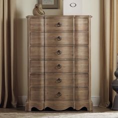 Hooker Furniture Corsica 6 Drawer Chest - Wire Brushed Artisan - Dressers & Chests at Hayneedle