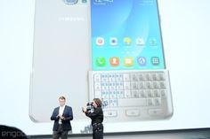 Galaxy Note 5 / S6 Edge+に履かせるQWERTYキーボード。下半身に物理キーを装着