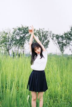 lo-fi beats, hi-fi girls a. Japanese School Uniform, Beats, Skater Skirt, Calm, Girls, Fashion, Toddler Girls, Moda, Daughters