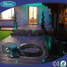 20 Best Deck And Patio Fiber Optic Lighting Images