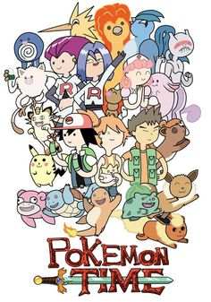 Pokemon x adventure time