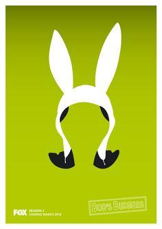 bob's burgers / louise belcher / bunny ears