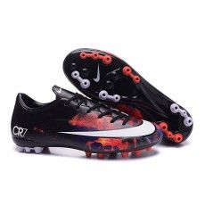 low priced 63f20 6ecab Billige Fodboldstøvler - udsalg fodboldstøvler med sok online! Nike  Mercurial Superfly CR7 AG Fodboldstøvler Low Rød Sort Hvid