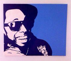 Lil Wayne Pop Art Portrait by Hannah Mae Barker on Etsy