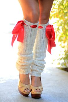 Leg Warmers Ivory Crochet Fashion by mademoisellemermaid on Etsy Crochet Stitches, Crochet Hats, Thigh High Leg Warmers, Crochet Christmas Gifts, Crochet Leg Warmers, Boot Cuffs, Crochet Fashion, Crochet Accessories, Yarn Colors