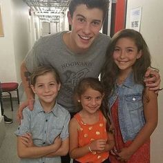 He's such father material, and the kids even sorta look like him