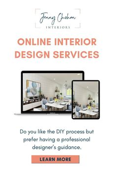 Affordable and convenient decorating with Jenny Chohan Interiors providing online design service in Canada and the USA. If you like the DIY process but prefer having a professional designer's guidance… More