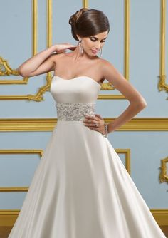 Mori Lee Size 4 White www.BridalOutletofAmerica.com