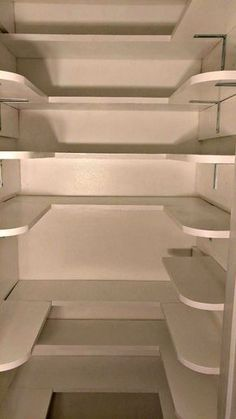 Pantry Closet Makeover Tutorial The pantry shelving is competed - Own Kitchen Pantry Sage Kitchen, Pantry Room, Shelving, Kitchen Remodel, Pantry Shelving, Closet Makeover, Diy Pantry, Shelving Design, Interior Design Kitchen Small