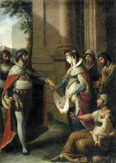 GONZÁLEZ VELÁZQUEZ, ZacaríasThe Miracle of St Casildac. 1820Oil on canvas, 106 x 77 cmPrivate collection