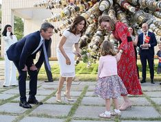 22 May 2019 - Official visit to South Korea (day Seoul, National Museum of Modern and Contemporary Art Princess Estelle, Princess Charlene, Princess Madeleine, Princess Eugenie, Crown Princess Victoria, Crown Princess Mary, Prince Frederik Of Denmark, Prince Frederick, Queen Margrethe Ii