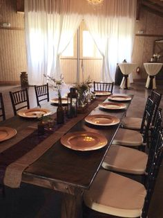Farm Tables | Up the Creek Farms | Crystal and Crates Vintage Rentals