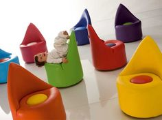 Children's furniture by Adrenalina