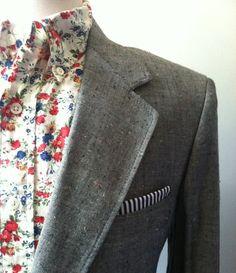 Fancy - Floral Print Button Down best floral shirt I even seen Der Gentleman, Gentleman Style, Camisa Floral, Urban Fashion, Mens Fashion, Well Dressed Men, Wedding Suits, Swagg, Dress To Impress