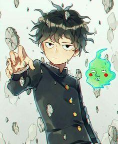 "Kageyama ""Mob"" Shigeo, Dimple, psychic powers; Mob Psycho 100"