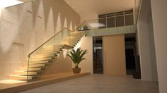 CANTILEVERED STAIRS Escalera abierta en acero y vidrio by Siller Treppen diseño Siller Stairs