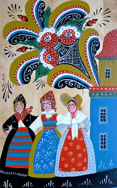 swedish folk art #folk