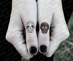 Small calavera tatto.